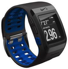 TomTom Orologio GPS Nike+ SportWatch, Colore Antracite e Blue Glow: Amazon.it: Elettronica