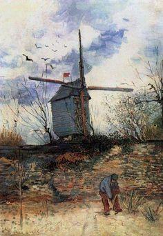 Van Gogh. Le Moulin de la Galette