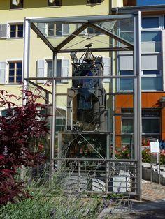 Fondo - orologio astronomico con automatismo ad acqua corrente