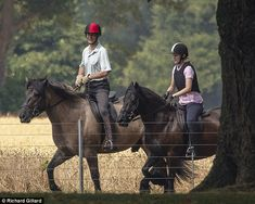 Lovely photos of Lady Louise riding in Windsor Great Park with her Father HRH Prince Edward Earl of Wessex this weekend 📷 Rex / Shutterstock Prince Edward, Prince Charles, Louise Mountbatten, Viscount Severn, Lady Louise Windsor, Duke Of Cambridge, Duchess Of Cornwall, Prince Of Wales, Lady Diana