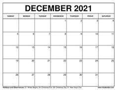 December 2021 Calendar 2020 Calendar Template, Excel Calendar, Blank Calendar, Free Printable Calendar, 2019 Calendar, Templates Printable Free, Printables, Roman Calendar, February Calendar