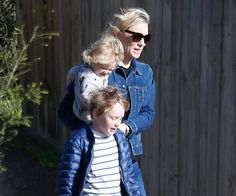 Cate wants her kids to enjoy a typical Aussie upbringing.