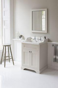 traditional bathroom vanities and cabinets rustic bathroom vanity cabinets bathroom traditional with White Bathroom Decor, Rustic Bathrooms, Bathroom Styling, Bathroom Interior Design, Bathroom Ideas, Luxury Bathrooms, Cottage Bathrooms, Bathroom Paneling, Bathroom Vanity Units
