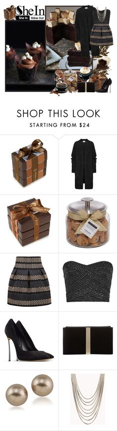 """SheIn.com - Contest!"" by asia-12 ❤ liked on Polyvore featuring мода, John Kelly Chocolates, Acne Studios, FREDS at Barneys New York, Casadei, Roger Vivier, Carolee и Forever 21"