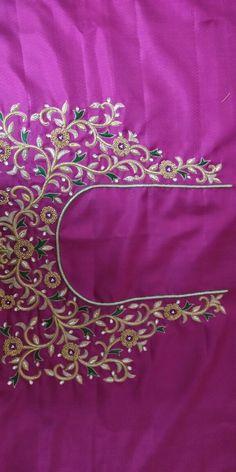 Rama Devi 9885925155 whatsapp no Saree Tassels Designs, Silk Saree Blouse Designs, Bridal Blouse Designs, Peacock Embroidery Designs, Machine Embroidery Designs, Big Rangoli Designs, Mirror Work Blouse, Best Blouse Designs, Maggam Work Designs