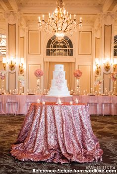 Romantic Colors of Sequin linen MADE TO by ArcadiaWeddingDesign