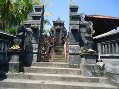Staircase to heaven in Bali