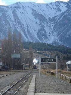 Esquel, Argentina - Estación de La Trochita