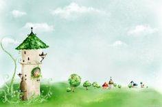 Fairytale Background Wallpaper