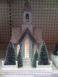 iphone paper Christmas houses at Target 001 by Patrick Q, via Flickr