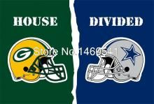 Now Only $10.00 at AliExpress - Green Bay Packers Dallas Cowboys Helmets House Divided Flag 3ft X 5ft Polyester NFL Banner Size No.4 144*96cm Custom Flag. Get the lowest price on this product from Blue Kangaroo, Your Personal Shopper. Plus: Find more great deals on apparel, home & garden, and electronics.