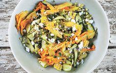 Corn and Zucchini Salad with Feta Recipe - Bon Appétit.