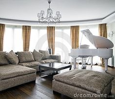 White grand piano!!!