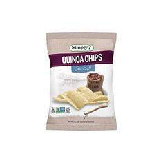 Simply7 Quinoa Chips Gluten Free Sea Salt 08 Ounce Pack of 24 >>> Click image for more details. (Note:Amazon affiliate link)