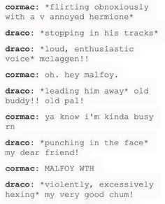 I don't even ship Dramione, but I really like this.
