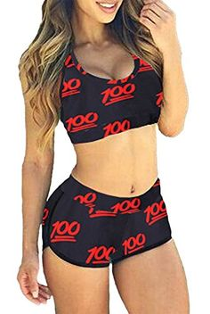 Shop a great selection of TOP HERE Women's Bandage Sporty Bathing Suit Boyleg Short Bikini Swimsuit. Find new offer and Similar products for TOP HERE Women's Bandage Sporty Bathing Suit Boyleg Short Bikini Swimsuit. Sport Bikinis, Mädchen In Bikinis, Sports Swimwear, Halter Bikini, Bikini Swimwear, Sexy Bikini, Swimsuit Tops, Bikini Tops, Red Swimsuit