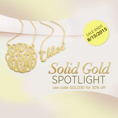 Name Necklace, Gold Necklace, Monogram Online, Solid Gold Jewelry, Coding, Bracelets, Stuff To Buy, Accessories, Charm Bracelets