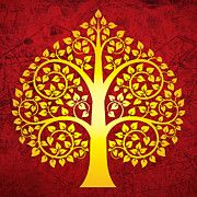 Kerala Mural Painting, Madhubani Painting, Indian Art Paintings, Tree Paintings, Mini Paintings, Bodhi Tree, Tree Tree, Tree Wall Art, Tree Of Life Artwork