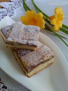 Orechové rezy z jedného vajíčka (fotorecept) - recept | Varecha.sk French Toast, Treats, Breakfast, Cake, Sweet, Basket, Kuchen, Sweet Like Candy, Morning Coffee