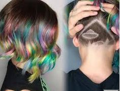 Related image Creative Hair Color, Creative Hairstyles, Cut And Color, Hair Cuts, Dreadlocks, Hair Styles, Beauty, Tumblr, Colors