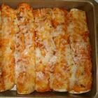Creamy Enchiladas... the picture doesn't do these bad boys justice!  Amazing and such a crowd pleaser!