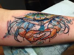Watercolor crab Tattoo - Yahoo Search Results Yahoo Image Search Results