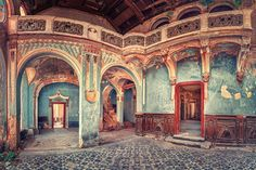Germany-based freelance photographer Matthias Haker has a special artistic interest in exploring the architectural nuances of the many abandoned buildings that he comes across. From decaying ballrooms to forsaken hotel lobbies ostentatiously missing their guests, through his vivid imagery Haker restores a sense of dignity to each of the decrepit structures. Upon initial glance his photographs almost appear like paintings, as he highlights the abstract beauty that can be found within the…
