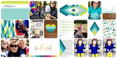 Layout using Project Life Prismatic Edition.