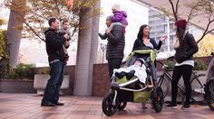 Best strollers: The Burley Solstice is our pick for best jogger for pavement or trail exercise.