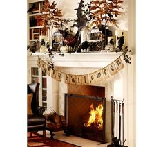 If I could throw a Halloween party of my dreams - Halloween 2013 @ Pottery Barn