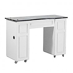 Canterbury Manicure Table White B - SAVE UP to 50% at eBuyNails.com >> Best Shop - Best Deals
