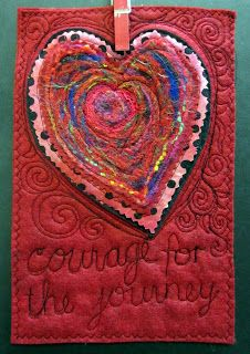 The Prayer Flag Project: Courage (for the journey)