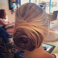 Wedding Hairstyles : Chignon Bun Hairstyles for wedding 19 - ListFender Wedding Bun Hairstyles, Up Hairstyles, Pretty Hairstyles, Wedding Updo, Bridal Bun, Office Hairstyles, Updos Hairstyle, Amazing Hairstyles, Hairstyle Tutorials