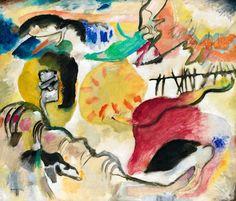 Wassily Kandinsky, A4 Poster, Poster Prints, Framed Prints, Posters, Modernist Literature, Color Symbolism, Diy Papier, Art Moderne