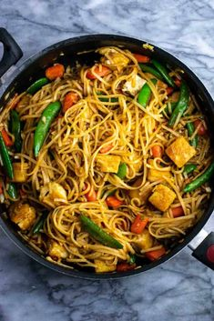 Vegan stir fry noodles with sugar snap peas and carrots. Homemade 3 ingredient stir fry sauce makes this taste amazing! Vegan stir fry noodles with sugar snap peas and carrots. Homemade 3 ingredient stir fry sauce makes this taste amazing! Vegan Stir Fry Noodles, Vegan Tofu Stir Fry, Fried Noodles Recipe, Stir Fry Recipes, Tofu Recipes, Sauce Recipes, Cooking Recipes, Sandwich Recipes, Asian Recipes