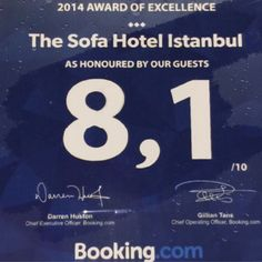 #award #guest #satisfaction #booking