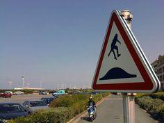 panneau signalisation scene sport extreme 8 Des panneaux de signalisation revisités avec des figures de skate et bike