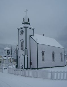 Catholic church in Newfoundland, Canada. Many claim that it is the oldest wooden church in North America,