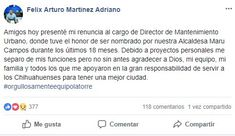 Se une Félix Martínez a campaña de Miguel La Torre en busca de la reelección