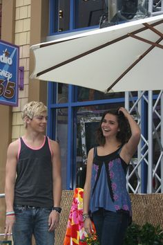 Downtown Disney Meet and Greet With Ross Lynch and Maia Mitchell! #TeenBeachMovie #DisneyChannel