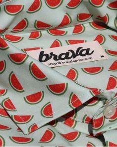 Camisa Estampada Fresh Watermelon