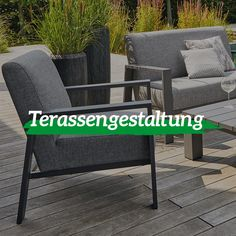 Outdoor Chairs, Outdoor Furniture, Outdoor Decor, Das Abc, Chrome, Home Decor, Wooden Chairs, Deco, Lawn And Garden