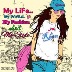 Me My World, My Life, Comic Books, Comics, Sayings, My Style, Cover, Quotes, Anime