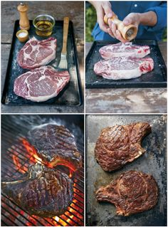 4 steps to steak perfection + our recipe for T-Bone Steaks with Black Pepper Butter.