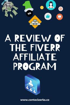 Is Fiverr Affiliate Program worth your time? Is it a good place to start? Learn how the program works ,its pros and cons. #affiliates #affiliatemarketing #fiverr #review #affiliateprogram Affiliate Marketing, Programming, Learning, Studying, Teaching, Computer Programming, Coding, Onderwijs