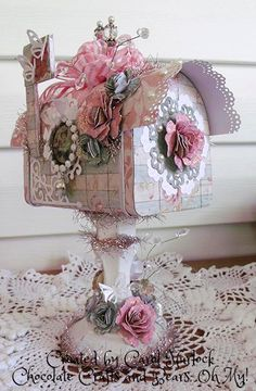 crafts from mailboxes | You should have arrived here from Frances' Blog . If not please start ...