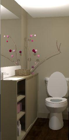 deco wc ambiance zen - Recherche Google | Peinture déco WC | Pinterest