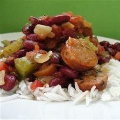 Vikki's Red Bean Sausage - Allrecipes.com