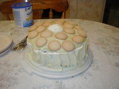 banana pudding cake   Banana Pudding Cake