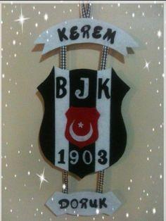 Keçe Beşiktaş duvar süsü